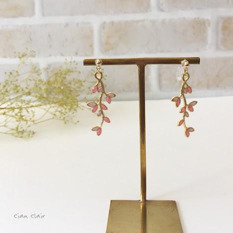 sweet branchノンホールピアス(装飾)