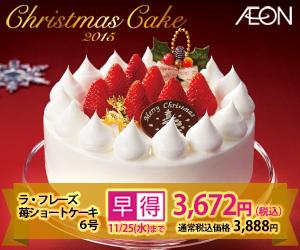 イオンのクリスマスケーキ.jpg