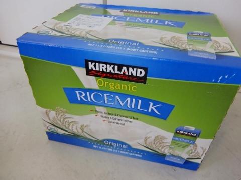コストコ KS ORG ROCE MILK 2,378円也 ライスミルク