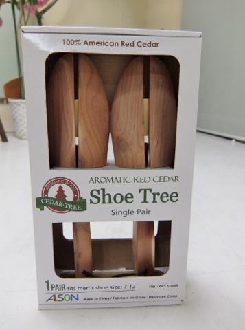 Costco コストコ  レッドシダーシューツリー  Ceder Shoe Tree 1,398円也