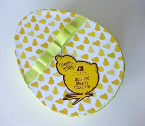 コストコ チョコレートエッグ ボックス 1,648円也   Belfineの ベルギーチョコレート イースターバージョン