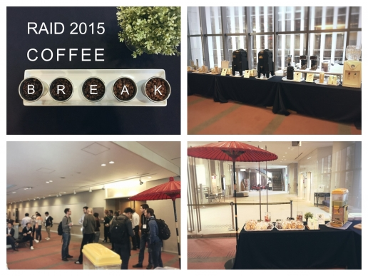 RAID 2015 Coffee Break