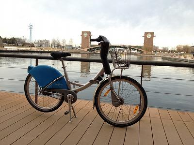 カナルパーク自転車画像201403