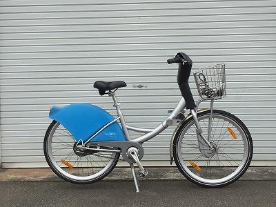 シクロシティ自転車交換前