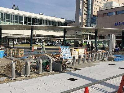 ST19富山駅南口コンコース工事中3