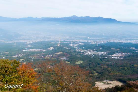 伊香保上ノ山公園からの赤城山