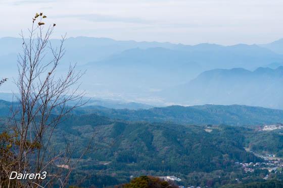 雲海の山並み