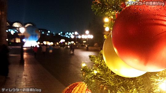 °○°東京ディズニーシー クリスマス・ウィッシュ2015 雨が降り出したちょっぴり幻想的な夜の風景その7