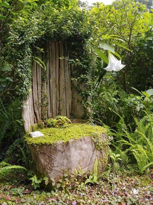 流木の椅子