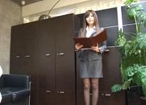 (オネエさん・モデル)桐谷ユリア モデル秘書を性奉仕指導するせくはら社長