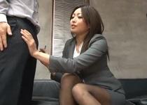 (無料えろムービー)山本美和子 オチンチン面接でフラストレーションを解消するヘンタイ女人事部長