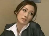 JULIA 残業中に課長のチンコを貪る巨乳痴女OL