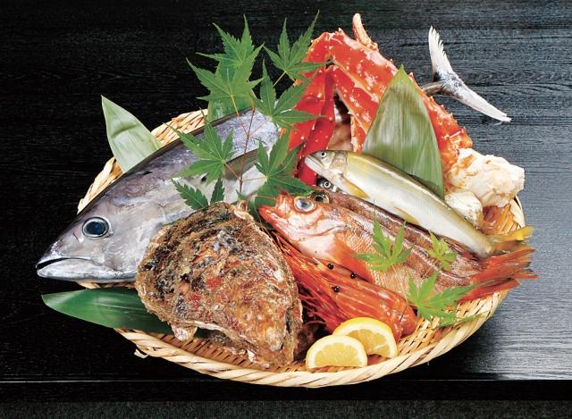 魚盛り合わせ