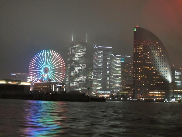 横浜港夜景