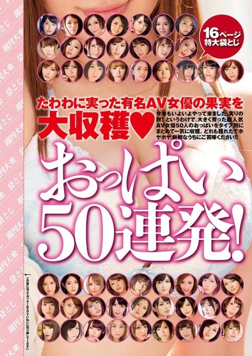 AV女優のおっぱいをタイプ別に エロ画像 01