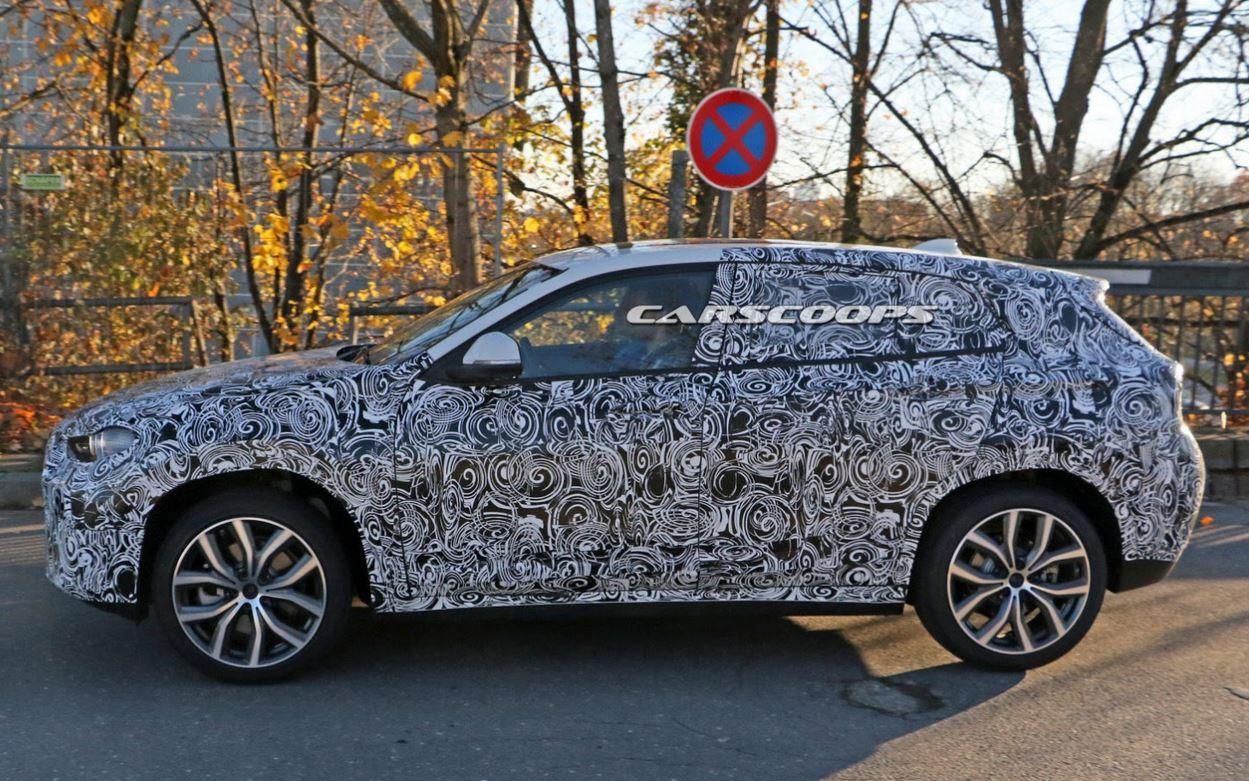 BMW X2 spyshot 2