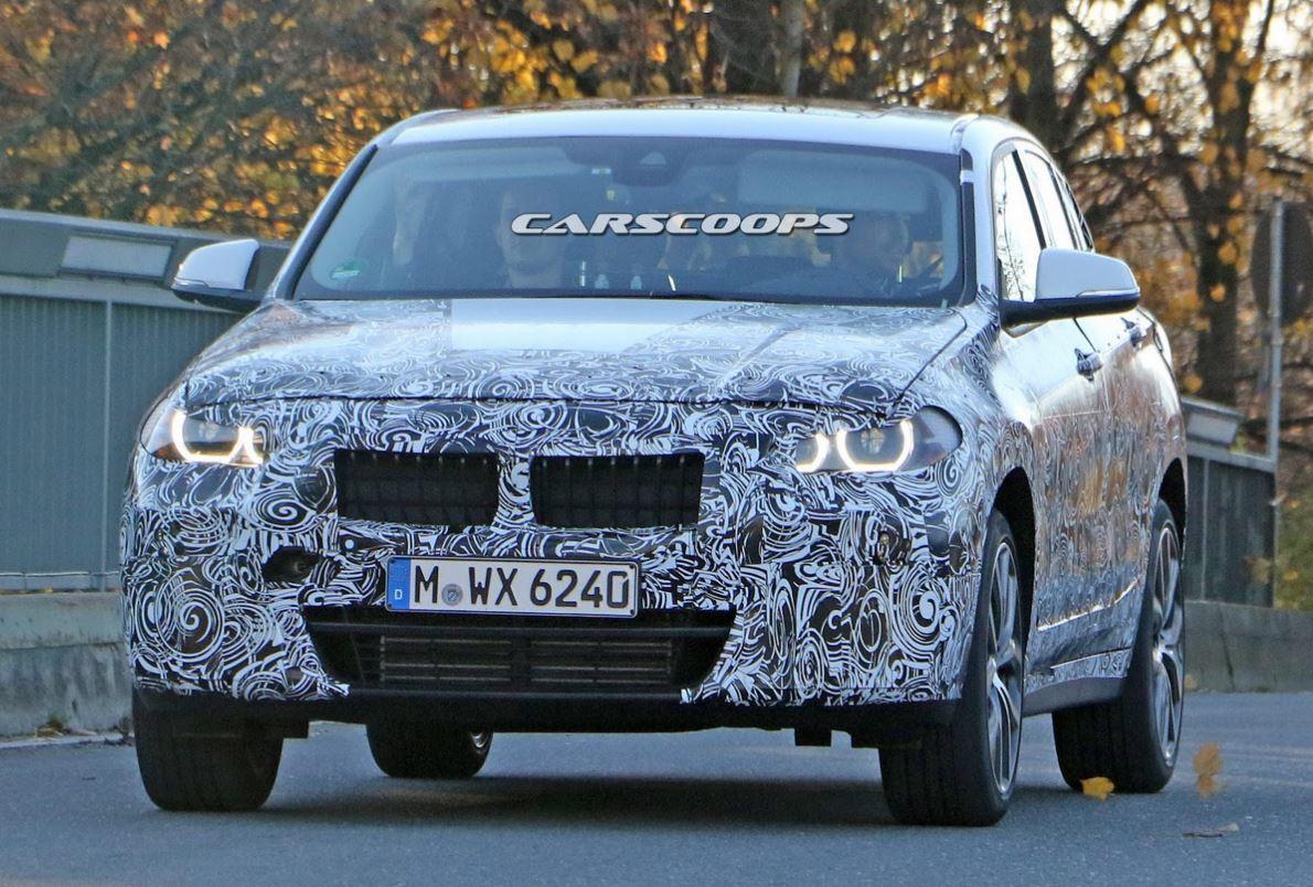 BMW X2 spyshot
