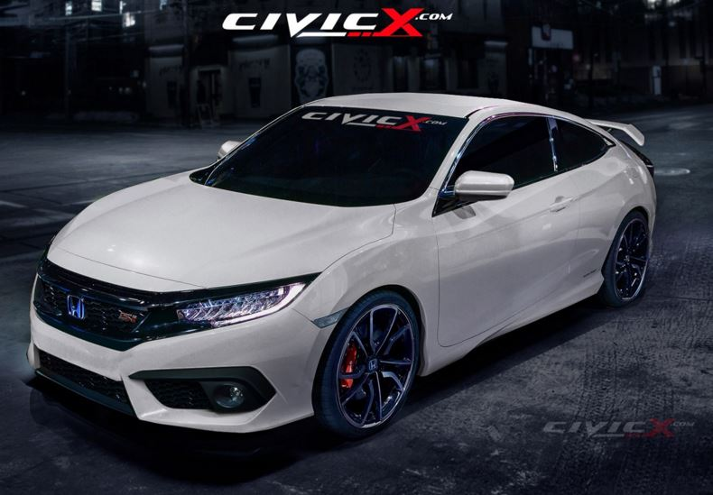 CIVIC COUPE 2016 2