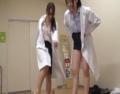 保健室の先生2人組に徹底的に股間をイジメられ・・・