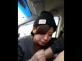 車内で可愛い子にフェラさせている所を隠し撮り