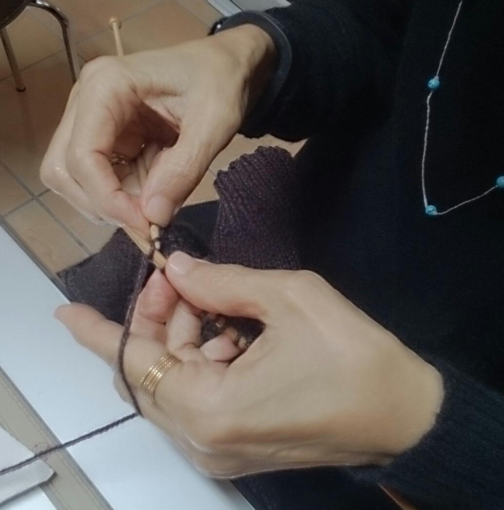 美奈子編む