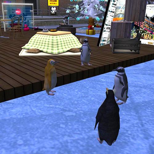 Secondlife Penguin Avatar