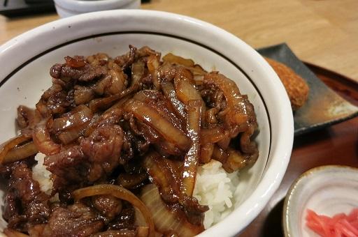 11-8豚捨牛丼