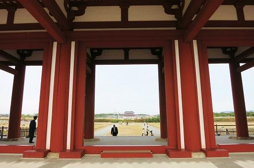 11-9朱雀門から平城京