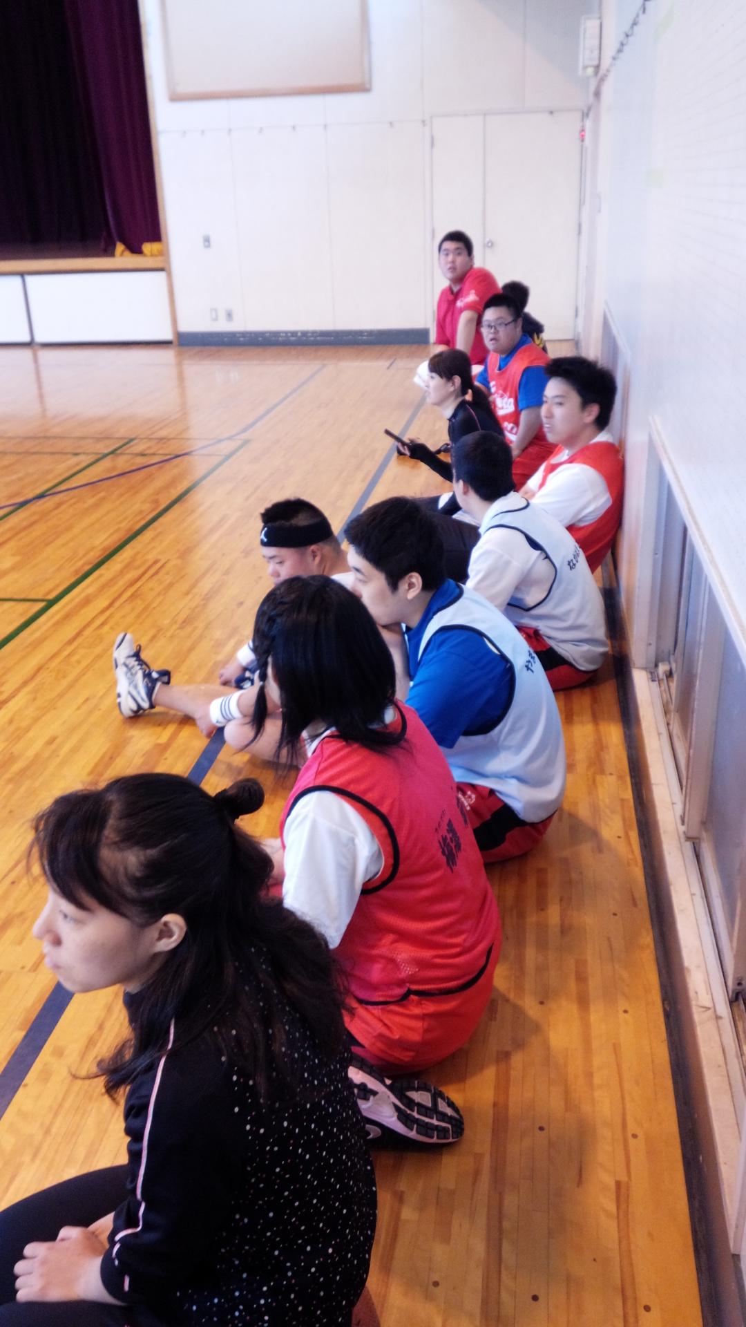 SONバスケ練習11月⑥