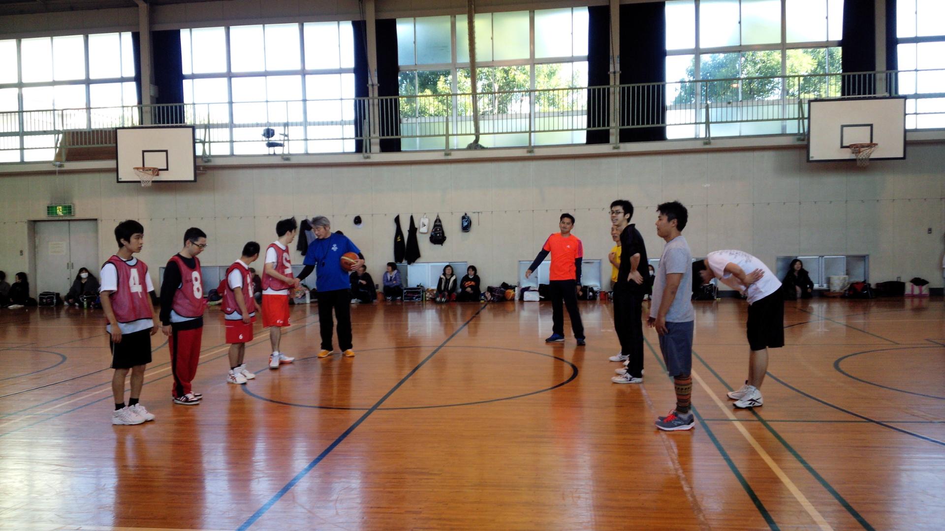 SONバスケ練習11月⑤