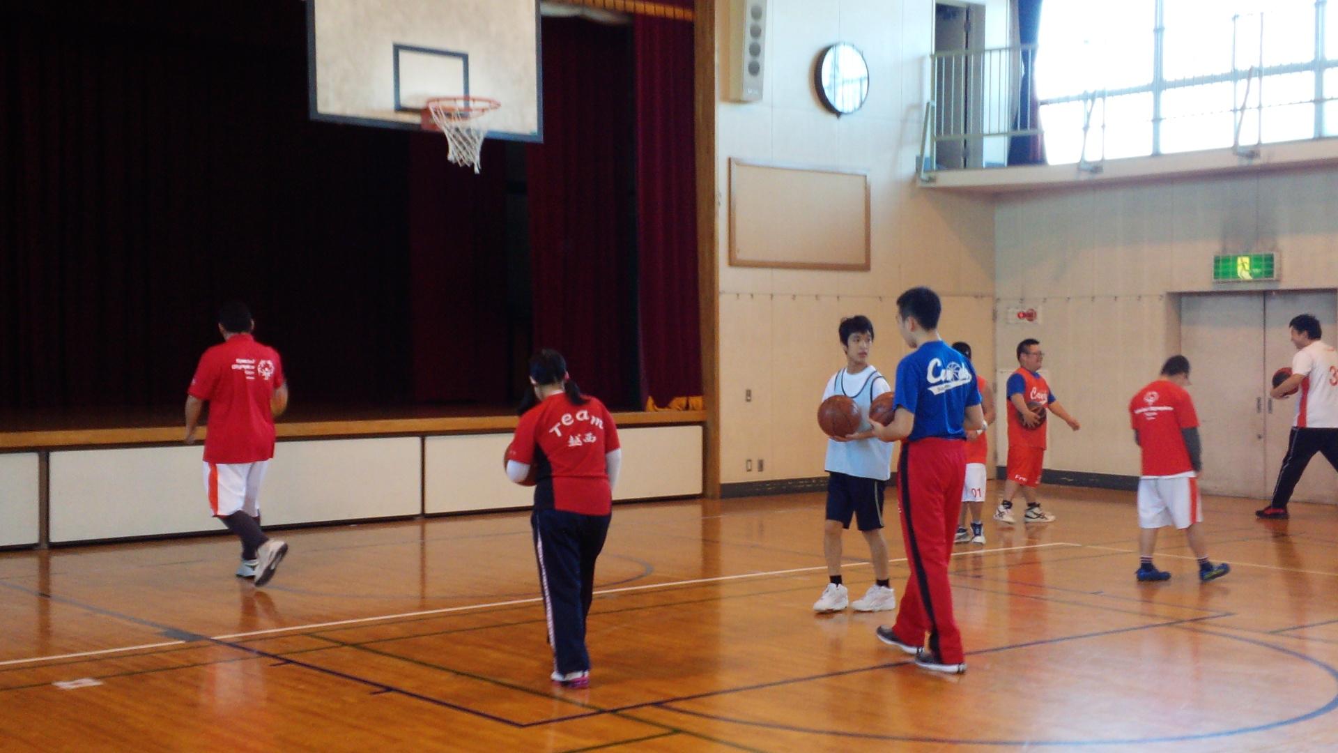 SONバスケ練習11月④
