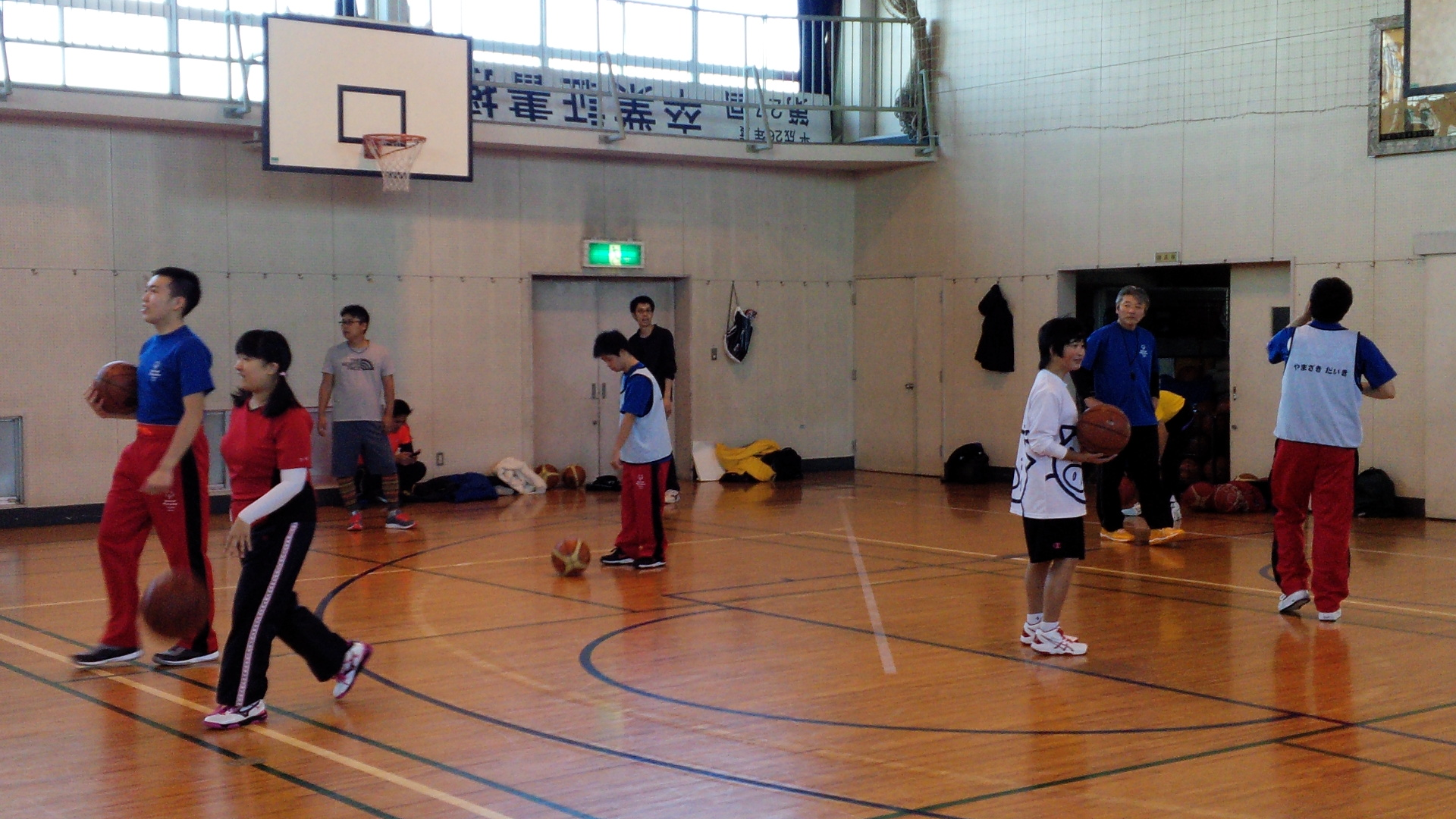 SONバスケ練習11月③