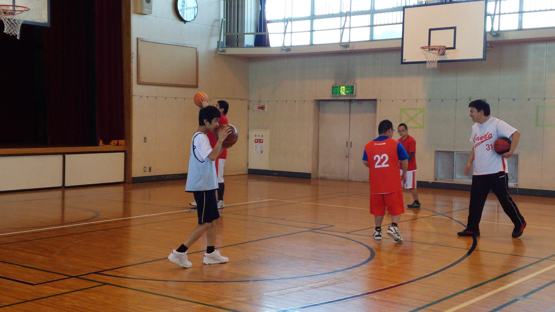 SONバスケ練習11月②