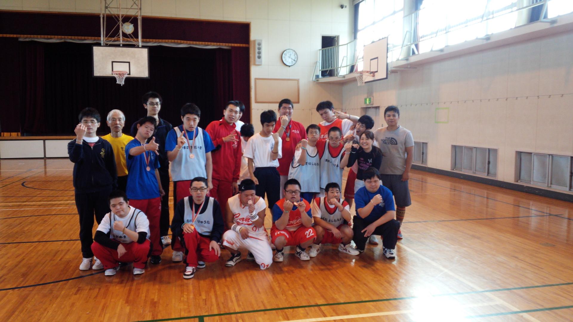 SONバスケ練習11月⑩