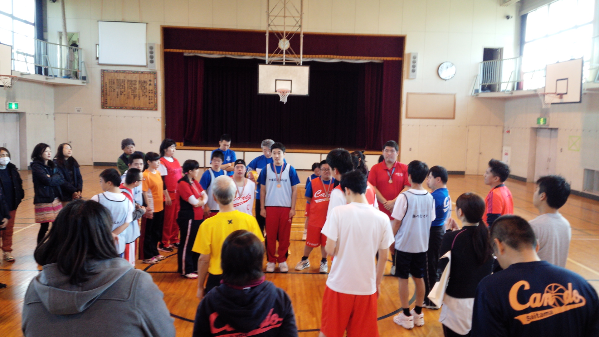 SONバスケ練習11月⑨