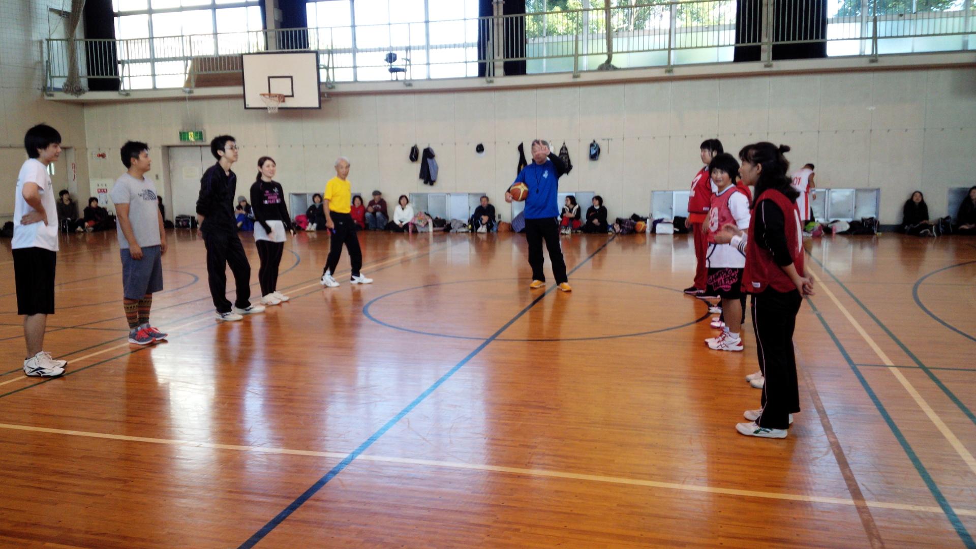 SONバスケ練習11月⑦