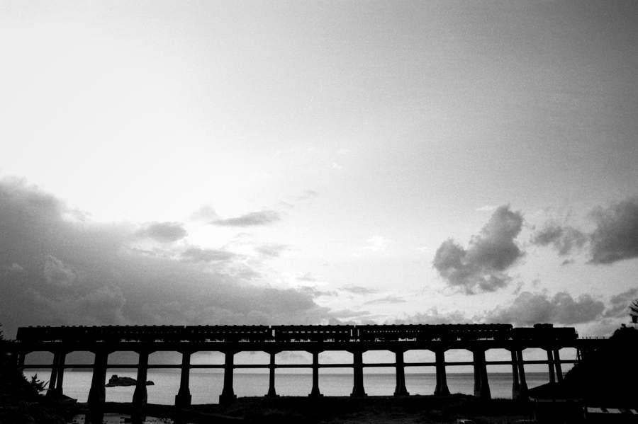 山陰本線 鉄橋3  1983年11月 16bitAdobeRGB原版 take1b
