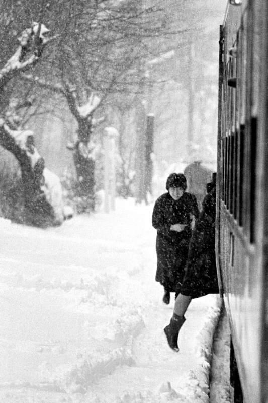 八戸線のホーム1 1983年2月19日 16bitAdobeRGB原版 take2b
