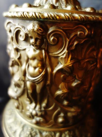 フランスアンティーク 天使のレリーフのオブジェ等 (4)