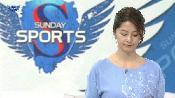 【エンタメ画像】《最新画像》NHK 杉浦友紀アナの「G乳ボイン」をご堪能下さい《9月25日》