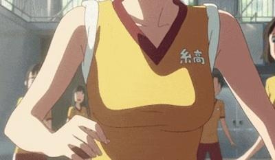 【エンタメ画像】《GIF画像》『君の名は★』三葉ちゃんのブラなしお●ぱいがプルプル揺れるシーンが抜ける!!!!!!!!!!!!!!!!!!!!!