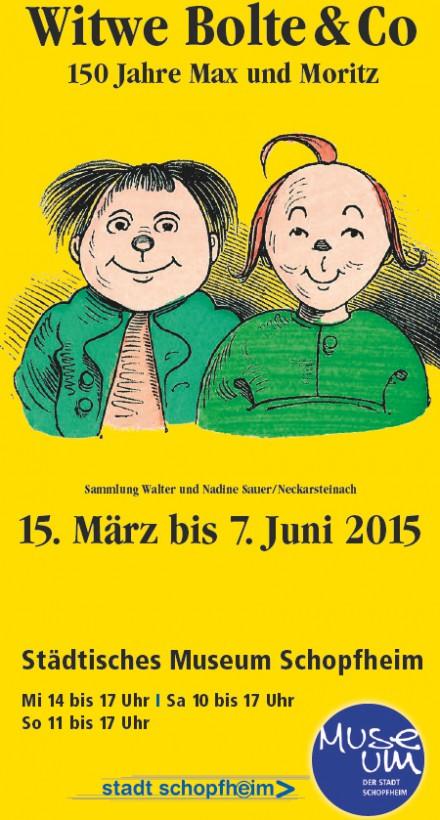 150 Jahre Max und Moritz