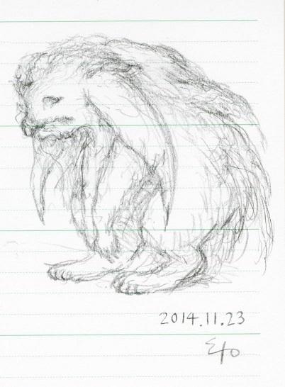 幻想動物 2014.11.23