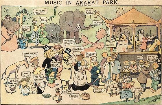 Music in Ararat Park - 1