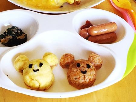 ディズニーご飯型 作る