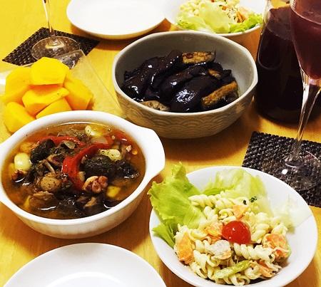 常備菜とサングリア