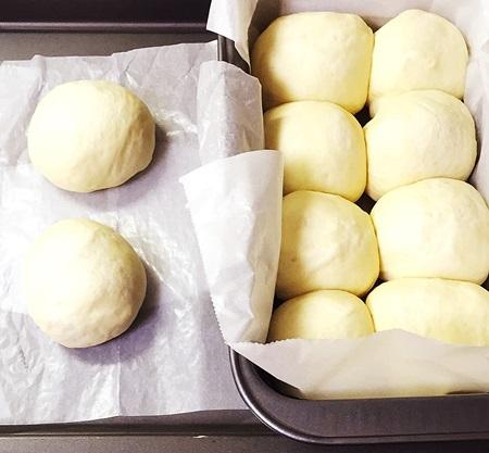 失敗しないパン作り 二次発酵終わり