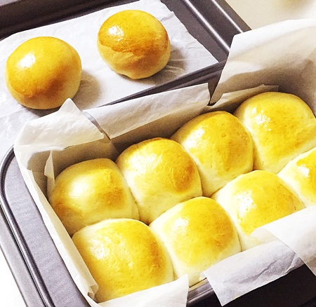 失敗しないパン作り 焼きあがり