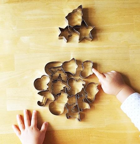 100均クッキー型 クリスマス用