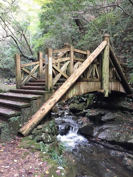犬鳴山 二の橋